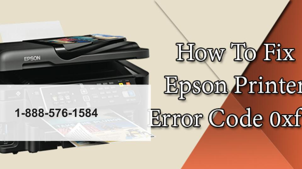 How to fix Epson printer error code 0xf1 | Repair Tool 1-888-576-1584